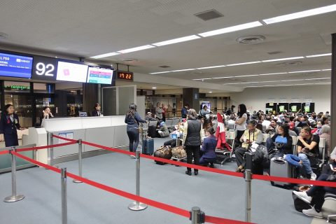 JALホーチミン行きの搭乗率