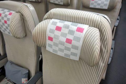 JALのシートピッチ