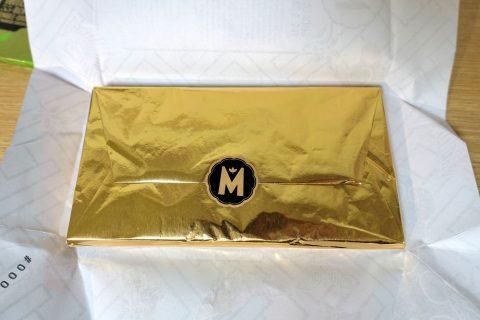 marou-chocolate/金の包装紙