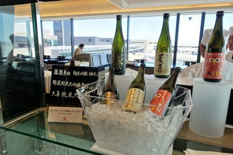 narita-jal-firstclass-lounge-3f/日本酒