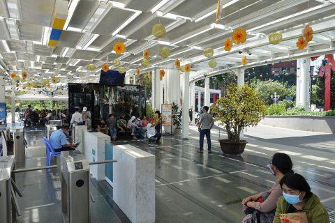 saigon-water-bus/ターミナル内
