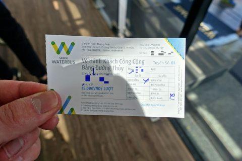 saigon-water-bus/チケット