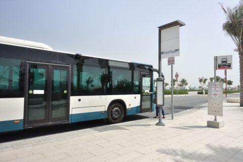abu-dhabi-bus/ルーブルアブダビ停留所