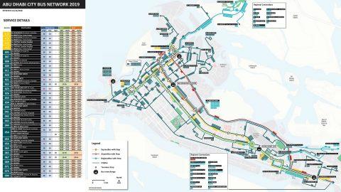 abu-dhabi-bus/路線MAP