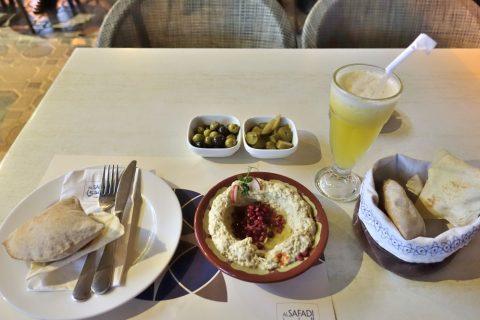 al-safadi-dubai-restaurant/フムスとピタパン