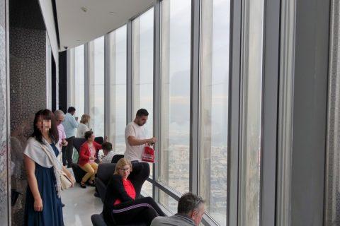 burj-khalifa/展望ロビーからの眺め
