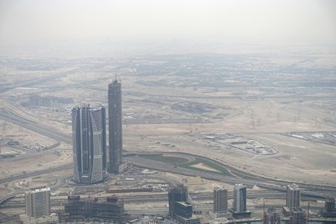 burj-khalifa/何も無い景色