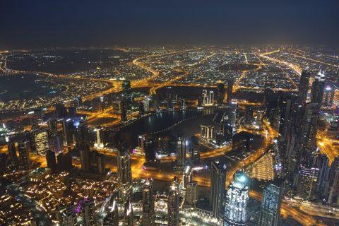 burj-khalifa/夜景