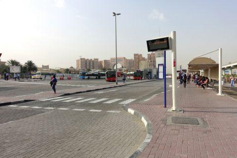 IbnBattuta駅バスターミナル