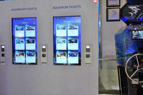 dubai-aquarium/チケット券売機