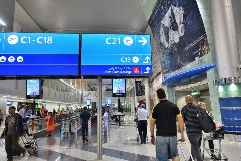 ドバイ空港コンコースC