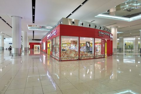 ドバイ国際空港ショップ