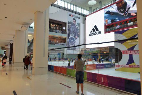 dubai-mall/スケートリンク