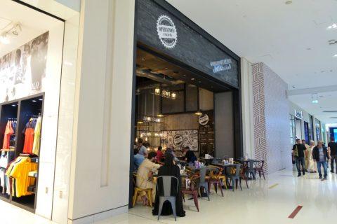 dubai-mall/中東料理店
