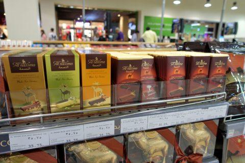 dubai-mall/ラクダミルクチョコレート