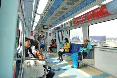 dubai-metro/女性専用車