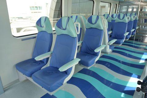 dubai-metro/ゴールドクラスの座席数