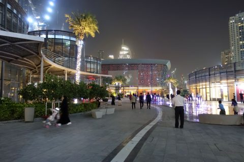 dubai-opera/噴水広場