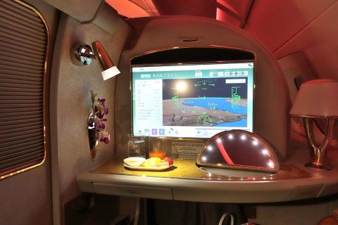 emirates-firstclass-a380/シートの快適性