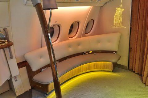 emirates-firstclass-a380/Barのシート