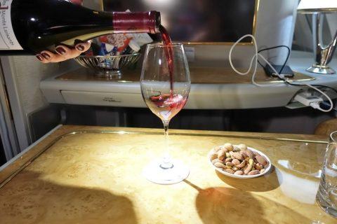 emirates-firstclass-a380/高級ワイン