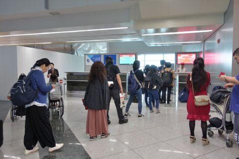 ドバイ国際空港搭乗ゲート