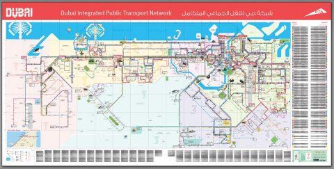 ドバイ路線MAP