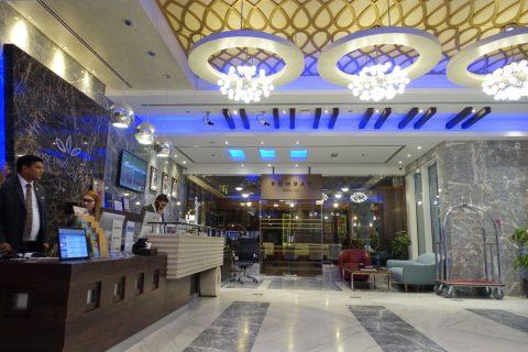 rose-park-hotel-al-barsha/レセプション