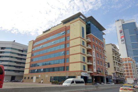rose-park-hotel-al-barsha/外観