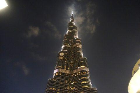 Dubai-Fountain/ブルジュカリーファのLED