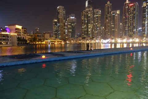 Dubai-Fountain/ボードウォーク