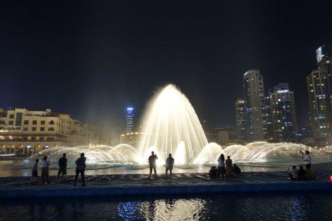 Dubai-Fountain/所要時間
