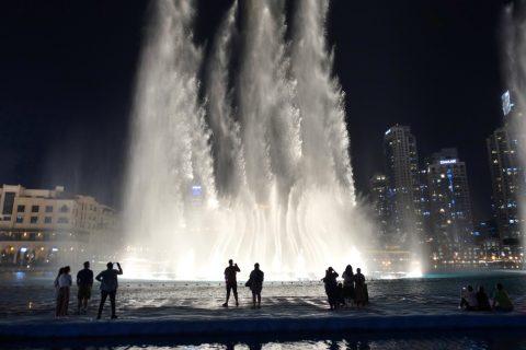 Dubai-Fountain/穴場スポットからの眺め