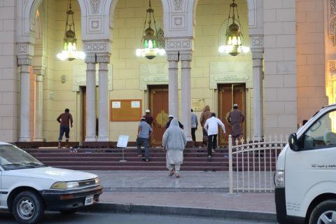 Jumeirah-Mosque/礼拝の時間