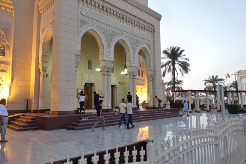Jumeirah-Mosque/床