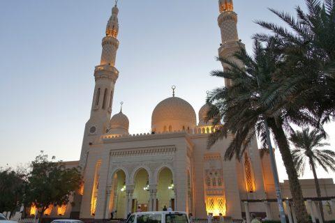 Jumeirah-Mosque/正面