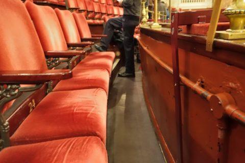 London-Coliseum/座席のスペース
