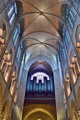 Notre-Dame-de-Paris/天井