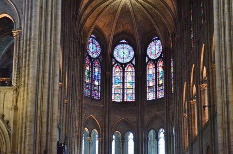 Notre-Dame-de-Paris/ステンドグラス