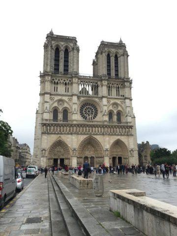 Notre-Dame-de-Paris/ファサード
