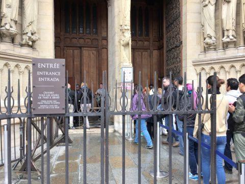 Notre-Dame-de-Paris/入場料