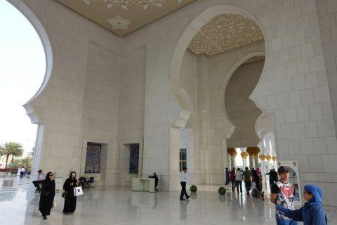 Sheikh-Zayed-Mosque/ドーム屋根のホール