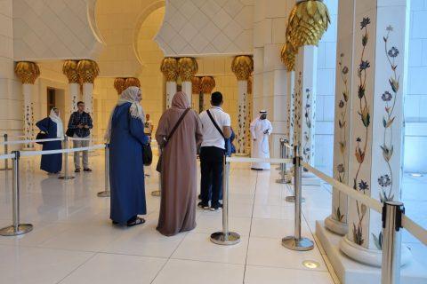 Sheikh-Zayed-Mosque/チケットチェック