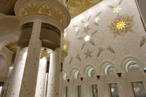 Sheikh-Zayed-Mosque/礼拝堂の壁