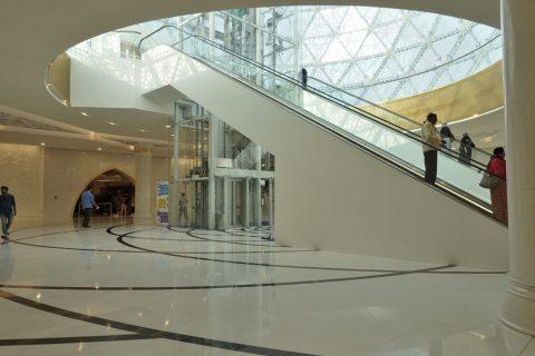 Sheikh-Zayed-Mosque/エントランスホール