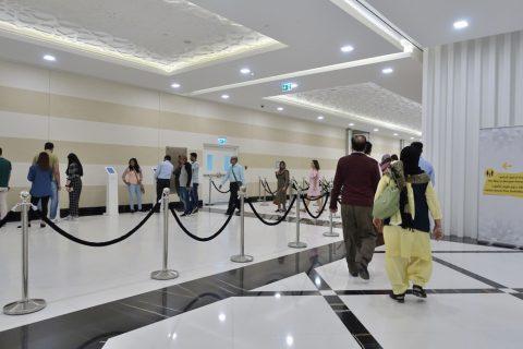Sheikh-Zayed-Mosque/チケット券売機