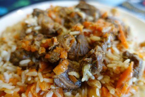 UZB-AVENUE/ウズベキスタンの米料理