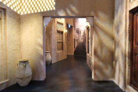 dubai-frame/建物の展示