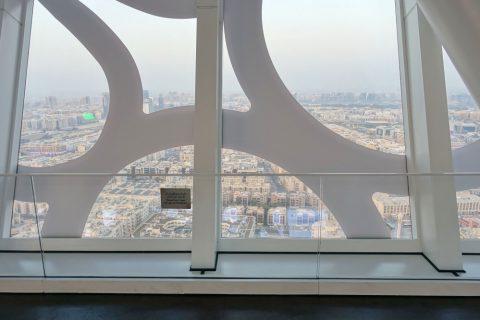 dubai-frame/窓の模様