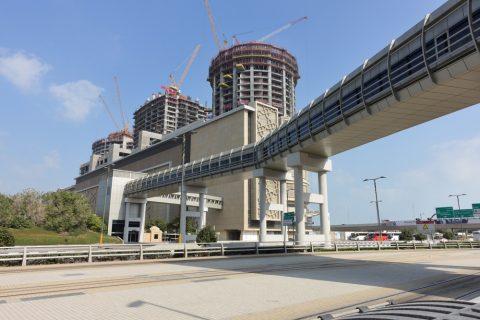dubai-palm-monorail/ゲートウェイステーション